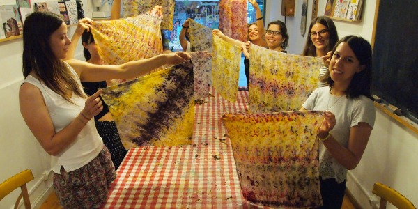 Bundle Dyeing Workshop